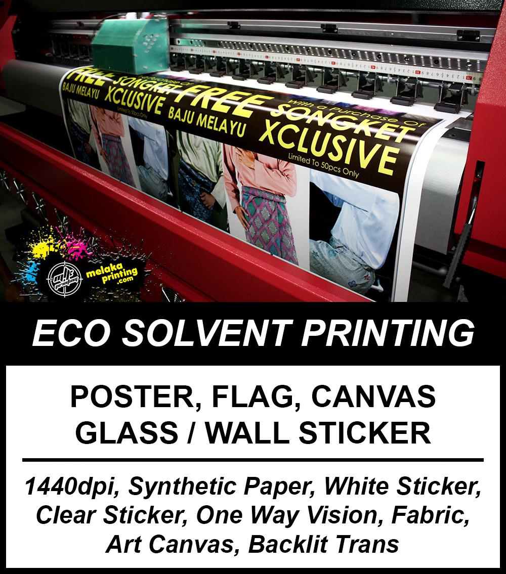 Melaka printing advertising